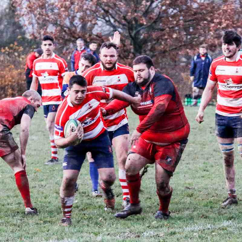CRFC 1st XV  v Park House 25 November 2017