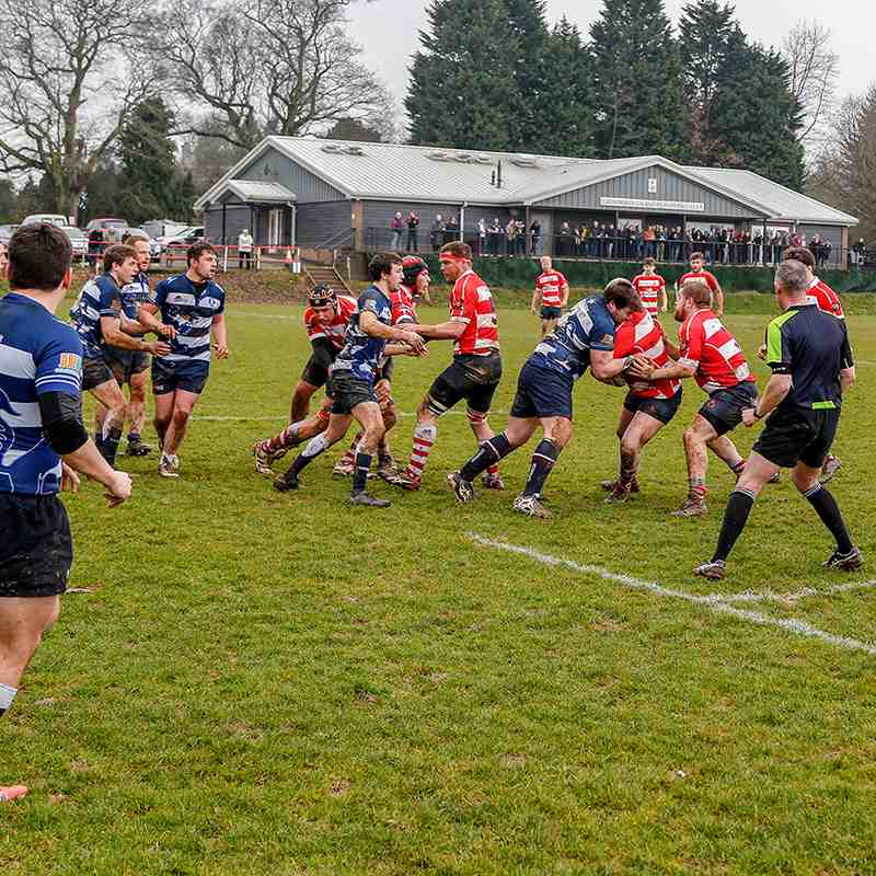 CRFC 1st XV  v Lewes 10th March 2018