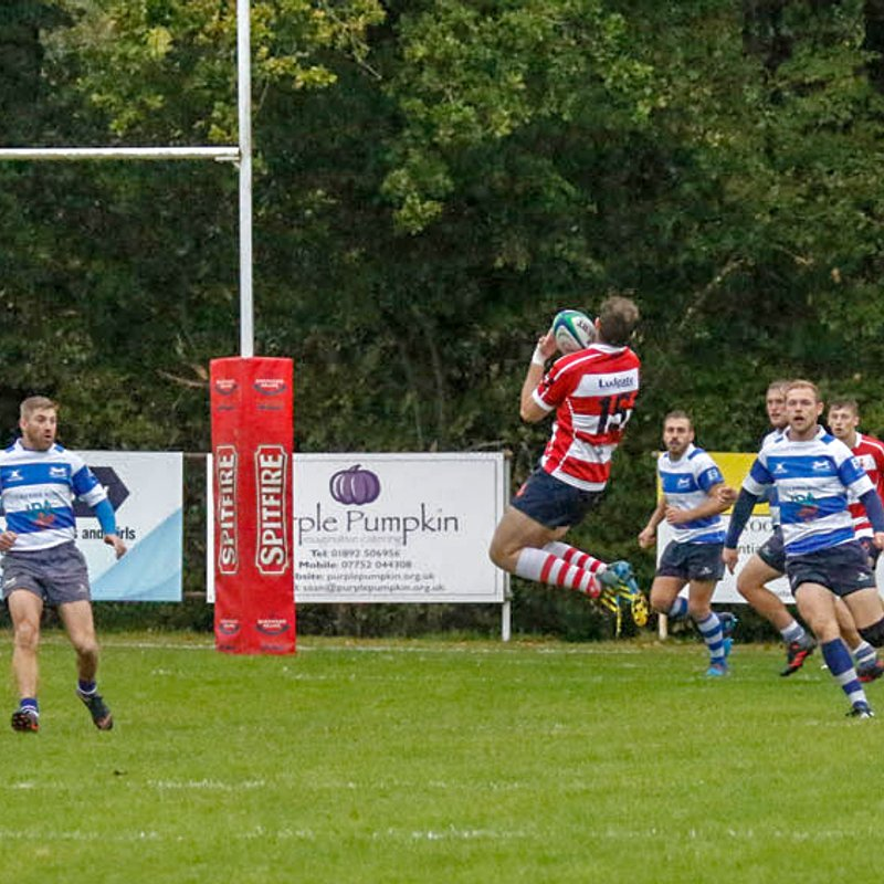CRFC 1st XV  v Hastings & Bexhill  home 6th October 2018