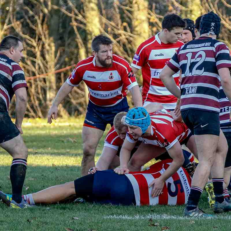 CRFC 1st XV  v Beccehamian 17th November 2018