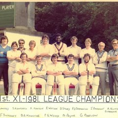 Rawtenstall Cricket Club in the 80s