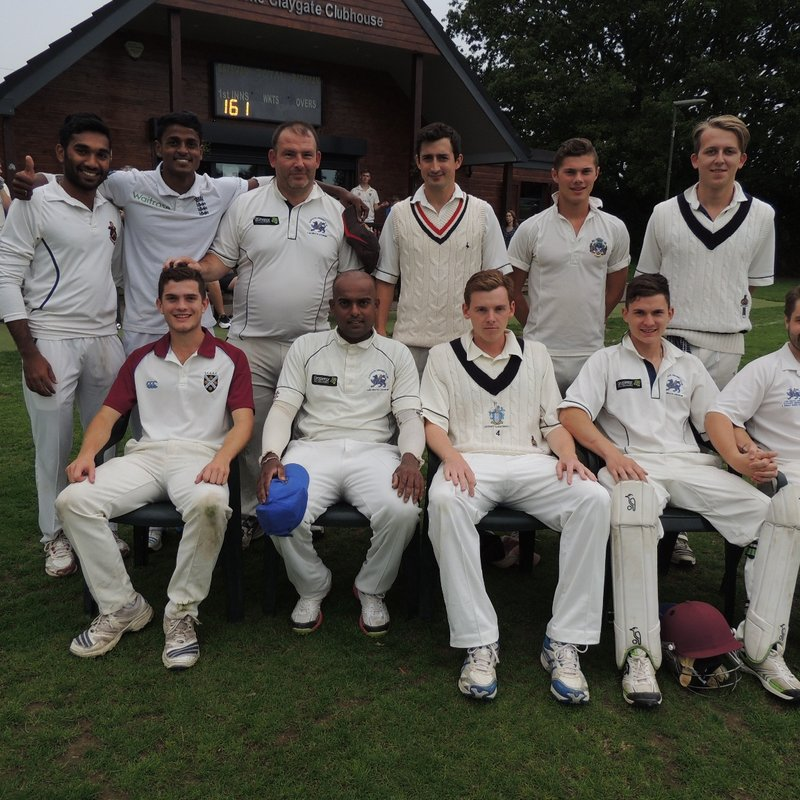 Claygate CC - 1st XI 152 - 153/9 Horley CC, Surrey - 1st XI