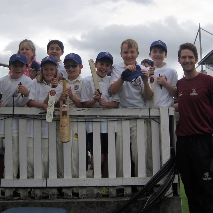 Bovey U10s invited to play at Somerset Cricket Club<