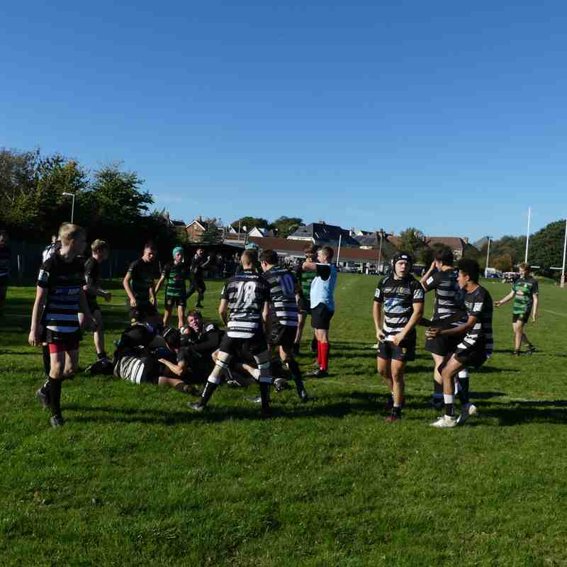Withycombe Colts 20/10/18 versus Brixham. Part 2