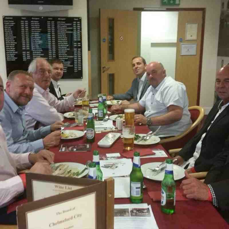 Matchday Hospitality - Pre-Season Friendly, West Ham Utd - Friday 15th July 2016