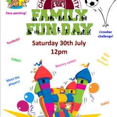Come and Enjoy a Football Family Fun Day at Clarets