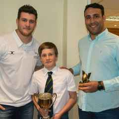 Top players hand-out U14 awards