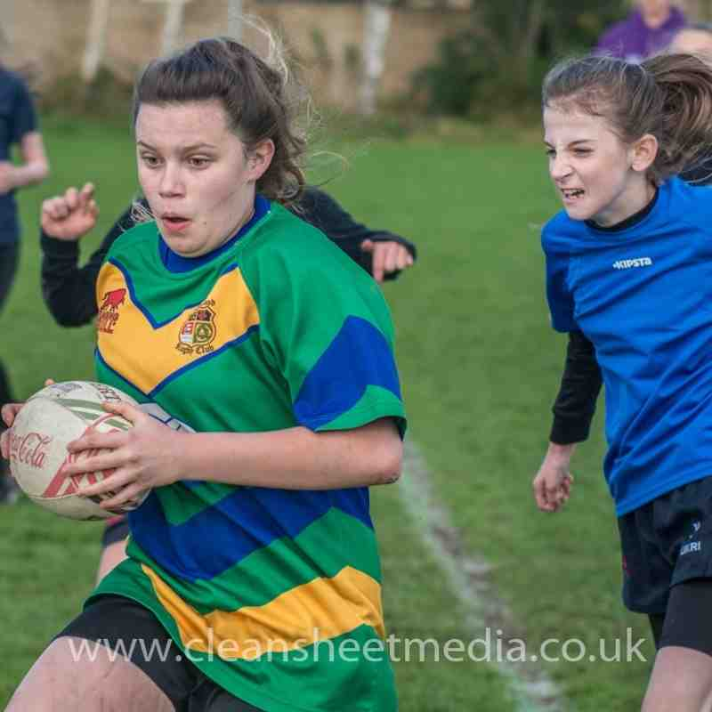 U13/15 Girls vs Grasshoopers & Vale of Lune Part 2