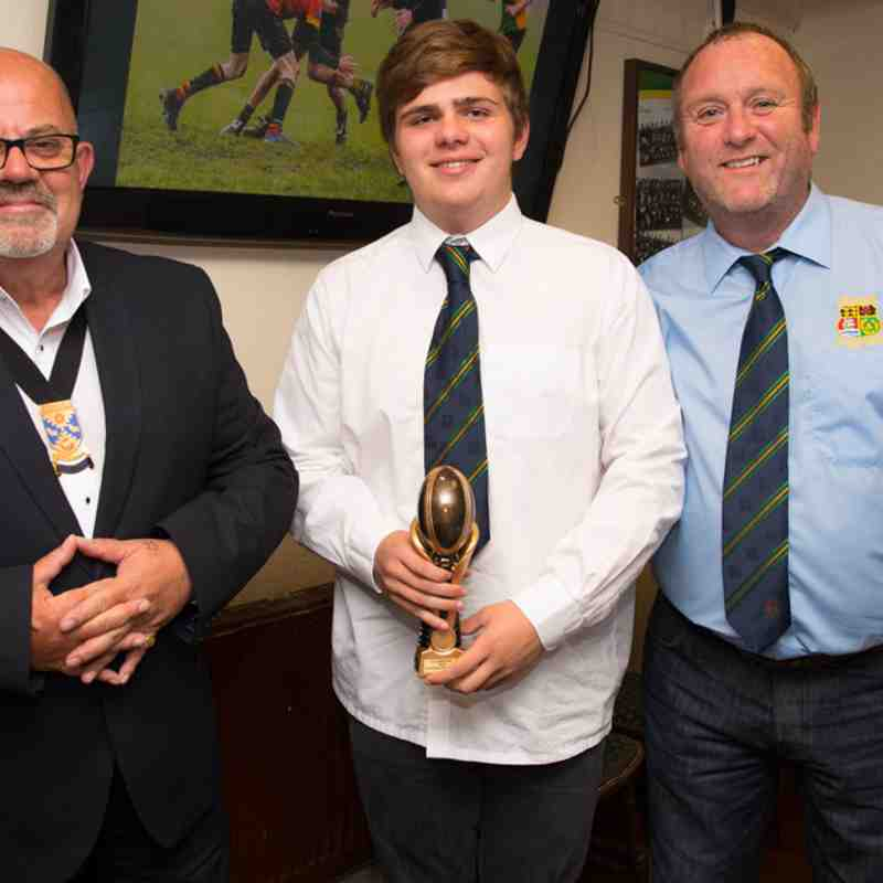 2017 U15 Boys Awards