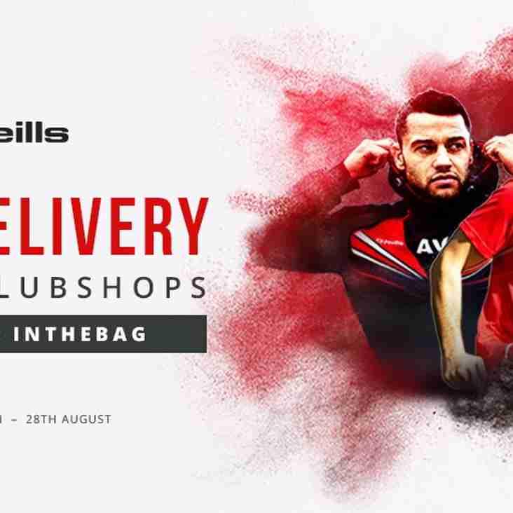 Club kit supplier offer