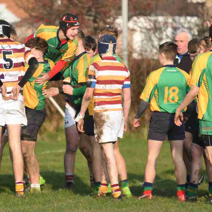 Under 16's pipped in local derby