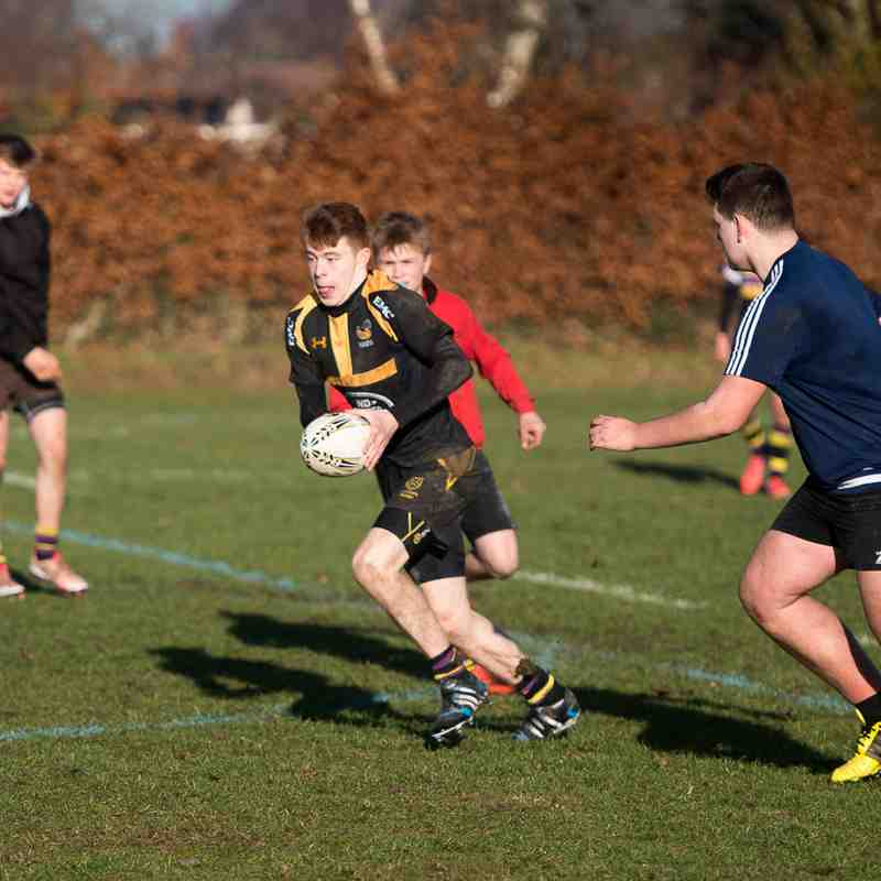 Old Cats U16s Training