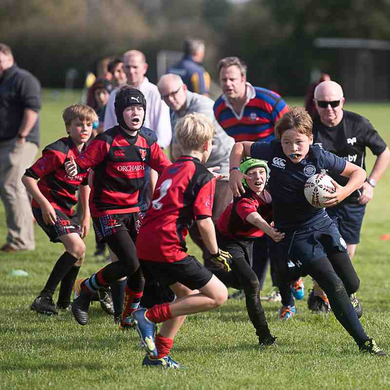 Under 11s at Eastbourne Festival October 2017