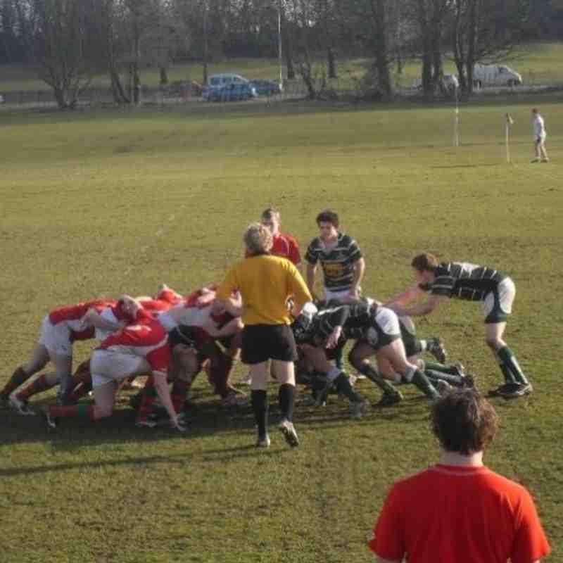 Swansea University RFC 2nd XV vs Aberystwyth University RFC 1st XV (By Dan Moyle)