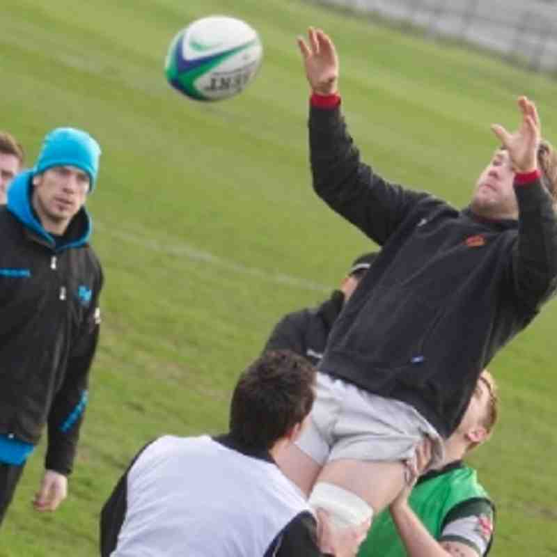 Training Session with AWJ