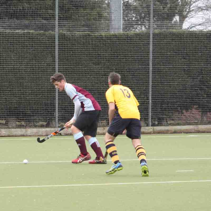 MKHC Men's 3rd XI vs. Henley - 20th February 2016
