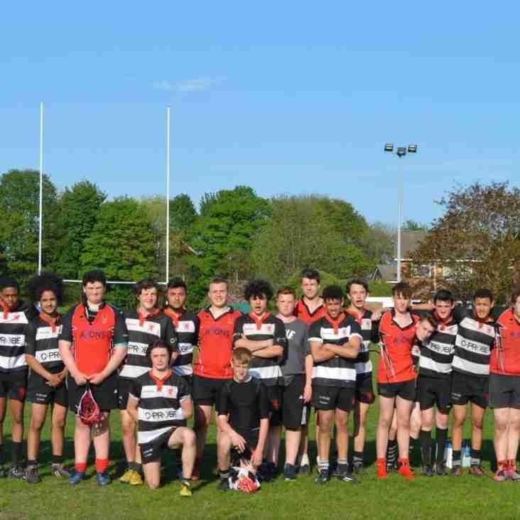 U16s Win the Bury Tournament Challenge Cup