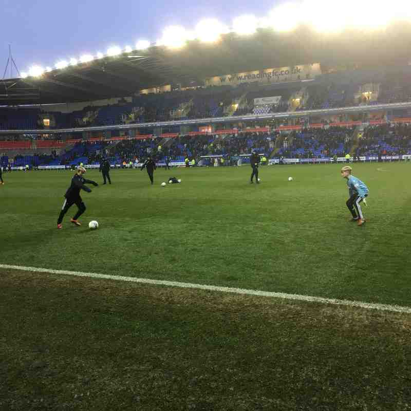 Reading vs Brentford U11-U12 Matchday experience