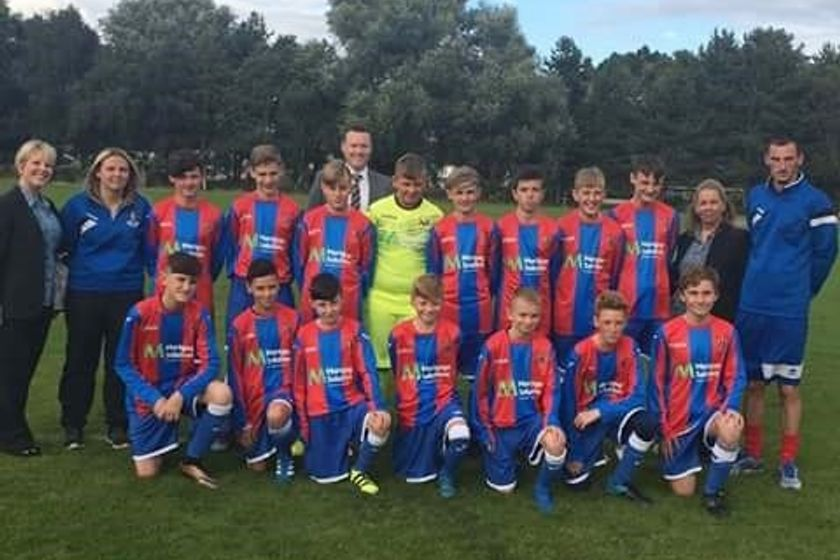 Ards FC Academy  U15's beat Rosario FC 1 - 3