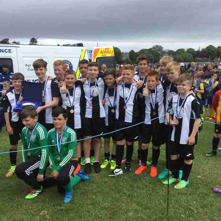 Scotland Cup success for 2003's