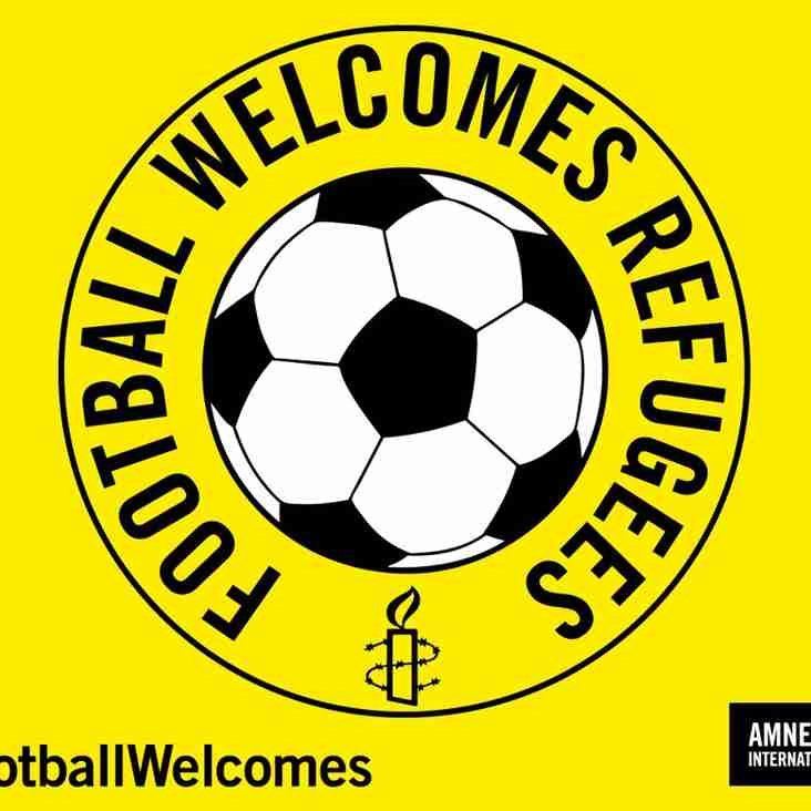 Football Welcomes refugees at Jeanfield