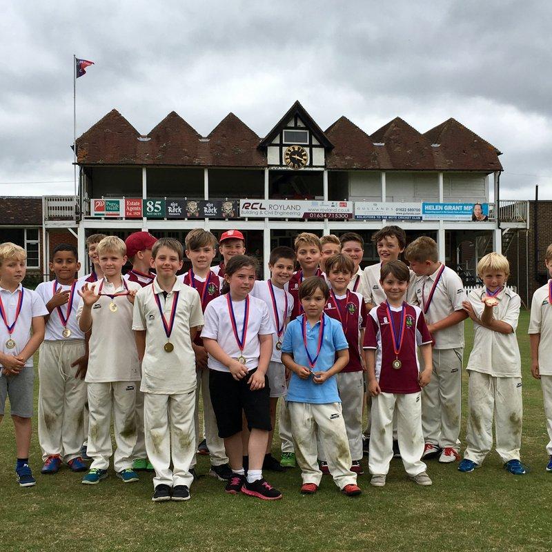 U9s at the A-Star Weald of Kent Kwik Cricket