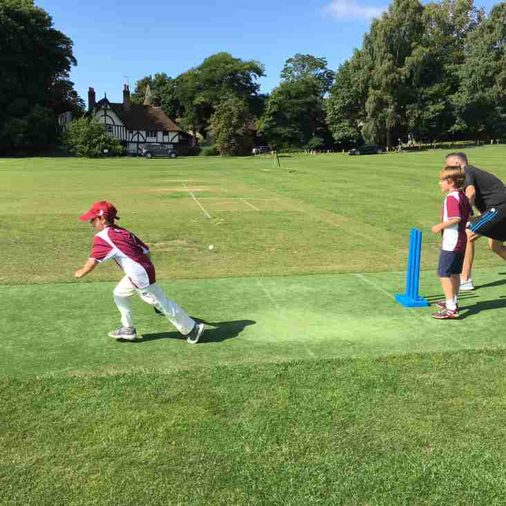 BCC U9s - Fun cricket for kids