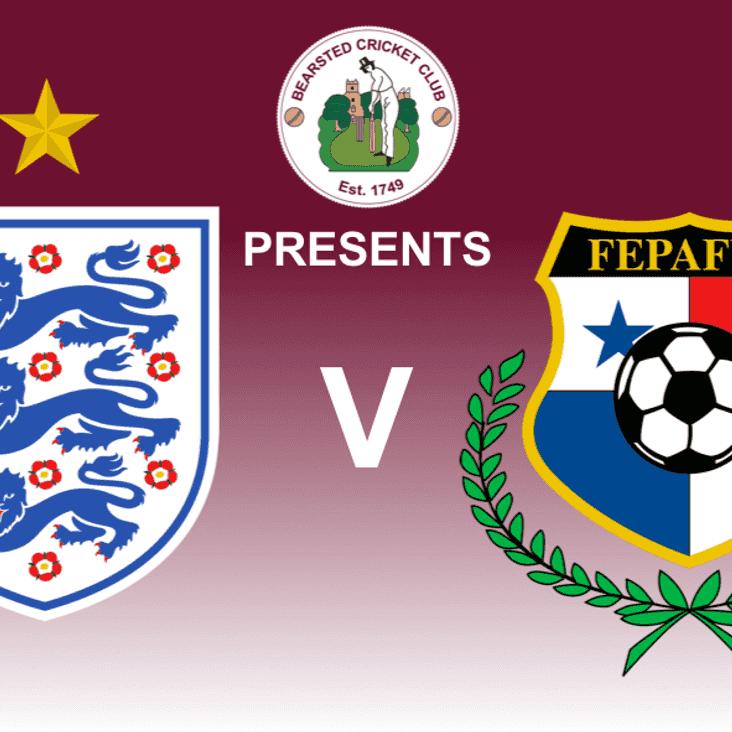 England vs Panama - PAVILION OPEN