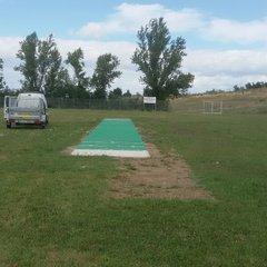 New Ground 25th July 2015, Pitch installation
