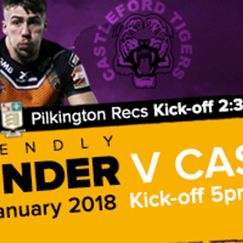 Thunder to Host Castleford Tigers