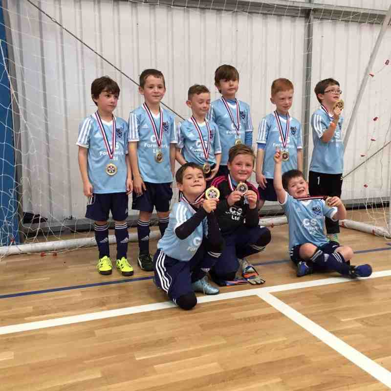 Chalgrove under 8s are becoming plate final specialist