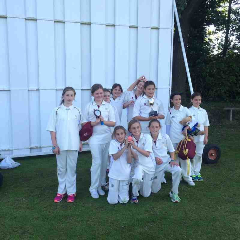 Under 11 Girls County Finals Day 2015
