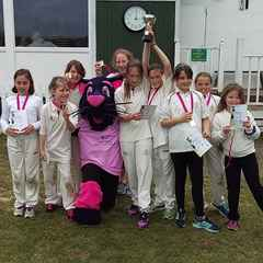 North Midd Girls win Under 11 Lady Taverners Competition!