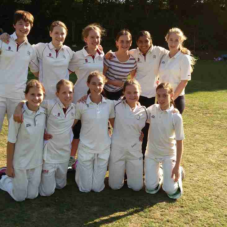 Girls Cricket at North Middlesex CC in 2019