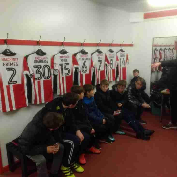 Cheltenham Town FC Welcome  Northleach Juniors U13s