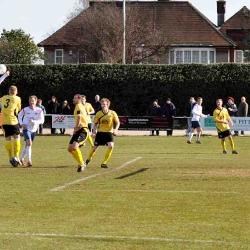 ON Chenecks v AFC Rushden and Diamonds. 2013.