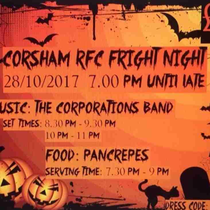 Corsham RFC Halloween Party
