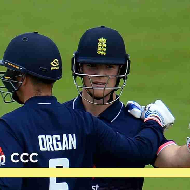 England 50 for Liam