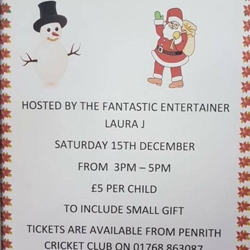 Children's Christmas Party, hosted by the fantastic Laura J.