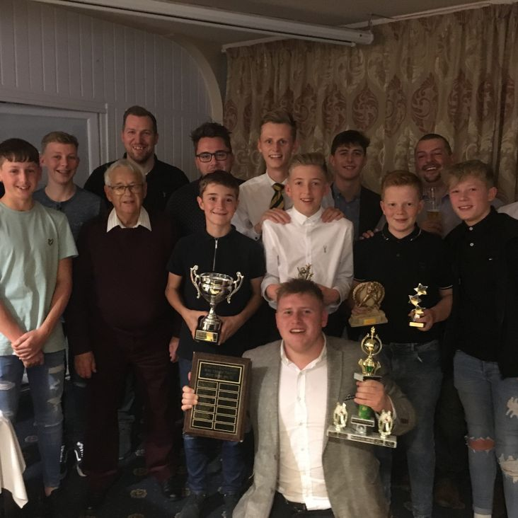 Senior Presentation Night Prize Winners<
