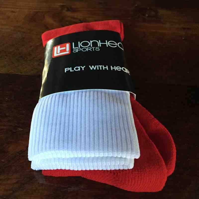 Red & White Socks