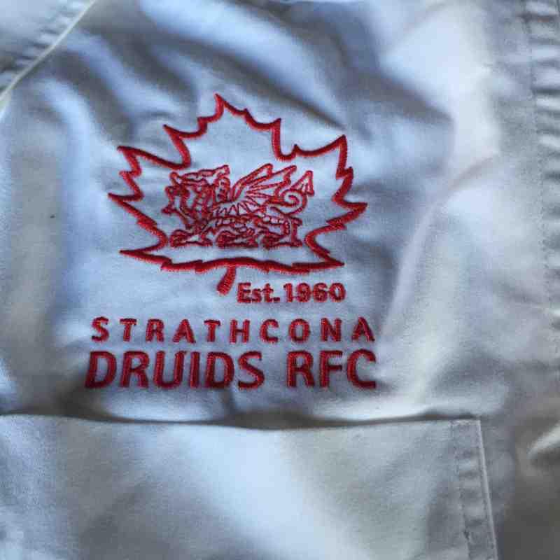 Senior Men's Dress Shirt - White + Logo