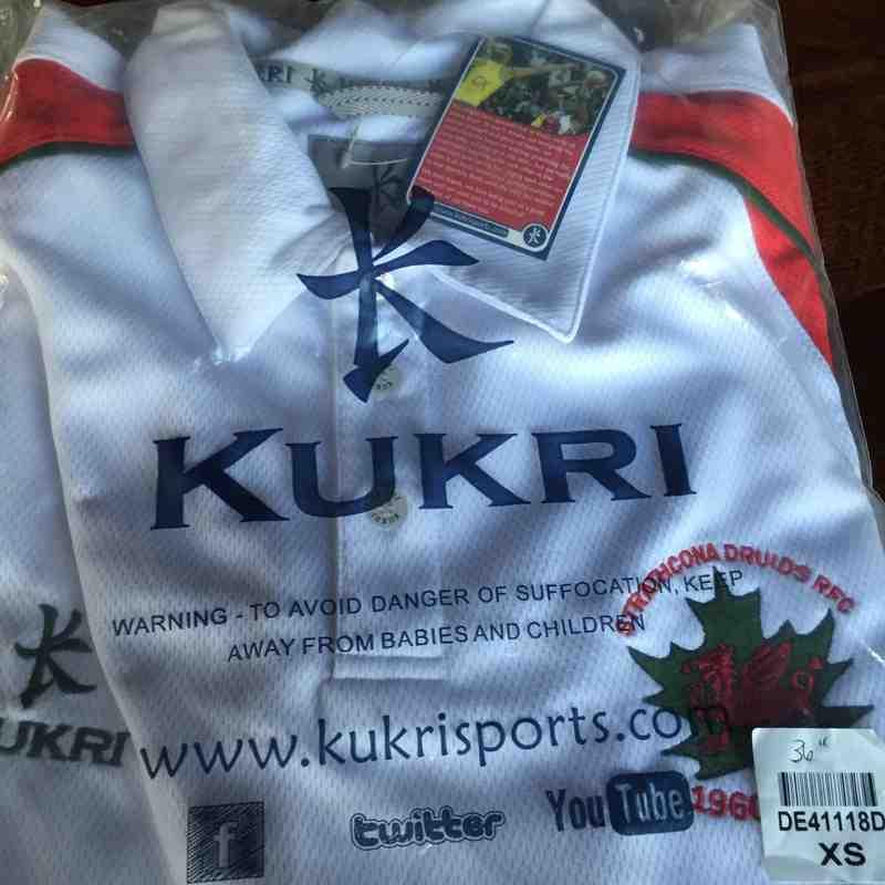 Youth Kukri White Shirts with Logo