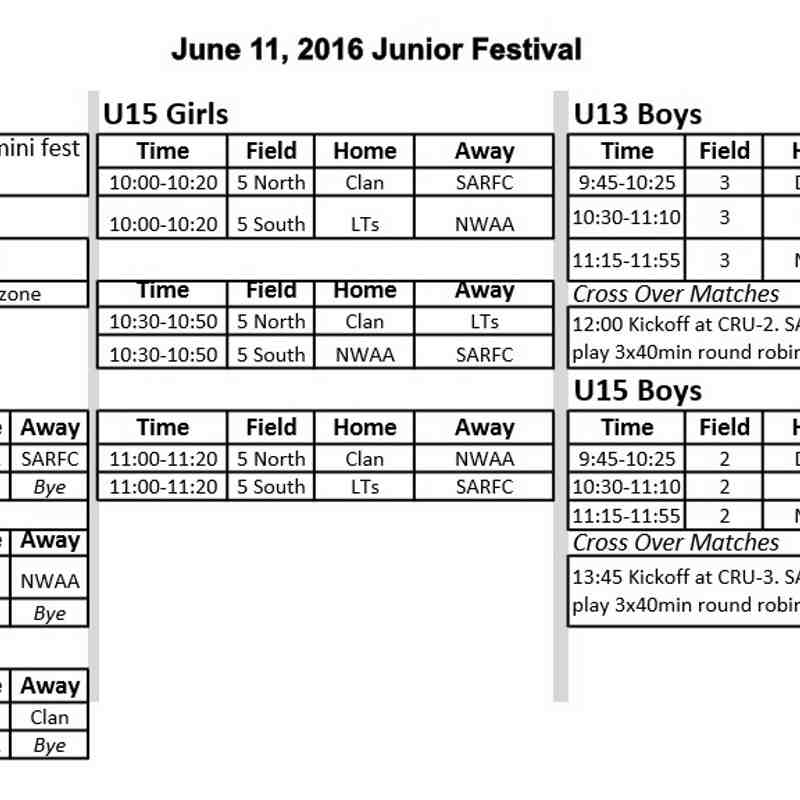 Jr Fixtures