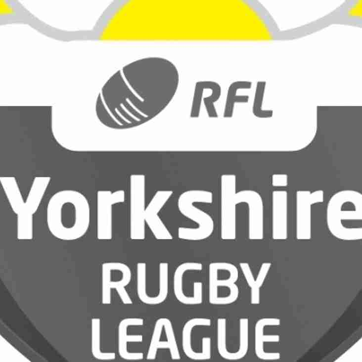 Yorkshire Mens League Fixtures