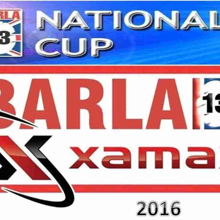 BARLA National Cup Results