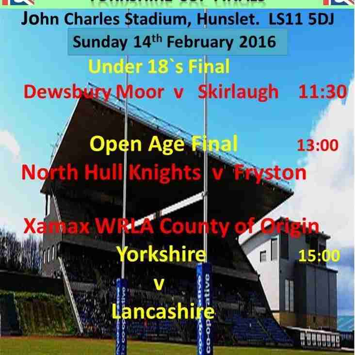 Yorkshire Cup Final