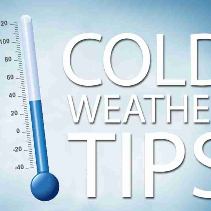 COLD WEATHER TIP