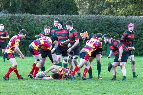 1sts v Peterborough 4/11/17. Lost 22-24