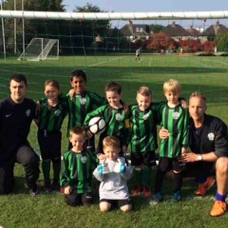 WHITTON WANDERERS YOUTH FC HAWKS U7 (team and coaches)